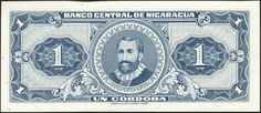 nicarawgua currency | NICARAGUA Paper Money, 1968 Issues