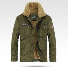 LONMMY Winter jacket men Military style jaquetas Warm Velvet Bomber jacket men coat Mens jackets and coats Army New M-3XL