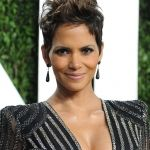 Beautiful Halle Berry Short Hairstyle