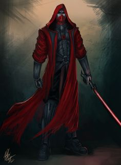 Darth Satus, pretty cool. Might be to red though