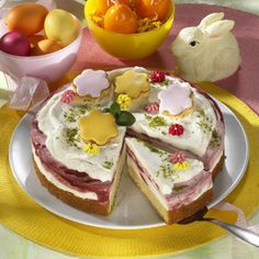 Erdbeer-Schmand-Torte Rezept | LECKER