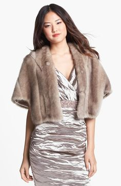 Free shipping and returns on Eliza J Faux Fur Capelet at Nordstrom.com. Silky soft faux-fur brings ritzy, old-world glam to a relaxed elbow-sleeve shawl designed to throw over any outfit for instant chic.
