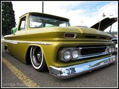 Slammed '60's Chevy Pickup