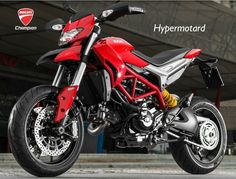 The new Hypermotard offers all the power of a new generation 110 HP Testastretta engine with the advanced technology of Riding Modes, Power Modes and the Ducati Safety Pack. Ducati Motorcycles, Vintage Motorcycles, Cars And Motorcycles, Ducati Hypermotard, Ski Doo, Nova, Dirtbikes, Car Engine, Motorcycle Gear