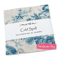 Cold Spell Prints Charm Pack ReservationLaundry Basket Quilts for Moda Fabrics
