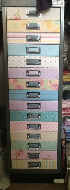 1000 Images About Upcycling On Pinterest Metal Filing: upcycled metal filing cabinet
