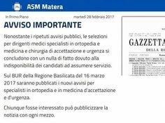 Attualià: #Matera #cercano #14 medici da 3mila euro al mese ma non ottengono nessuna risposta (link: http://ift.tt/2mwbawz )