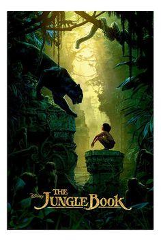 The Jungle Book Bagheera & Mowgli Teaser Poster | iPosters