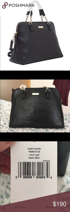 On Hold - Kate Spade Rachelle Bag Black leather. Gold chain details. Brand new. kate spade Bags Satchels