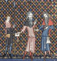 Bodleian Library MS. Bodl. 264, The Romance of Alexander in French verse, 1338-44; 100r