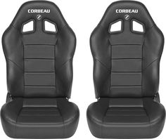 Corbeau Baja XRS Reclining Suspension Seat Pair for 76-16 Jeep® Wrangler YJ, TJ, JK, Unlimited, CJ-5, CJ-7 & CJ-8 Scrambler | Quadratec