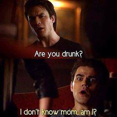 Drunk vampires…
