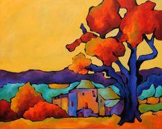 le viel arbre en hiver II par Laurence FOSSATI