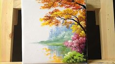 acrylic painting tutorial impressionist - YouTube