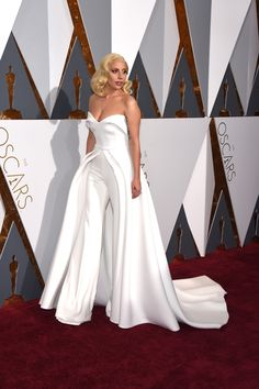 Lady Gaga in Brandon Maxwell Wedding Attire, Wedding Gowns, Wedding Reception, Reception Dresses, Lace Wedding, White Fashion, Look Fashion, Evening Dresses, Prom Dresses