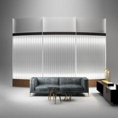 Panel luminoso LED FLY TUBE by Paolo Castelli