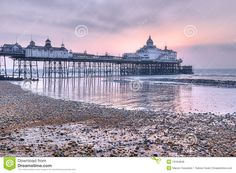 Eastbourne Pier At Sunrise Royalty Free Stock Photos - Image: 19184848