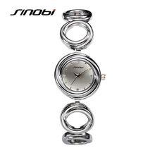 SINOBI Pulsera Relojes Para Las Mujeres de Moda Reloj de Cuarzo de Las Señoras…