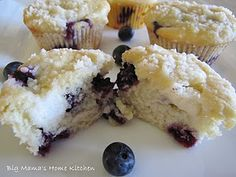 Blueberry Cream Cheese Muffins.  I am literally drooling.