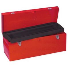 Heavy Duty Metal Tool Box- 24 In. X 9 In. X 9 In.