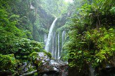 Tiu Kelep Waterfall, Lombok - West Nusa Tenggara