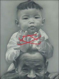 Cat's Cradle by Zhu Yi Yong