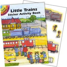 Train Sticker Book