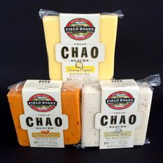 Field Roast Vegan Chao Cheese Slices.