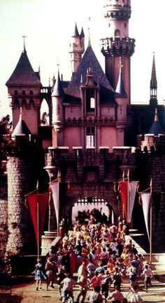 Curiosities: Rare and Amazing Historical Photos opening day...Disneyland