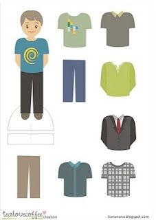 Free Printable Paper Dolls For Boys