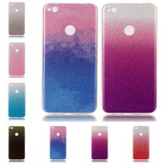 For Huawei P9 Lite 2017 Candy Color Case Coque Etui Silicone Cover Glitter Diamond Crystal Phone Bag For Huawei P9Lite Capinha #Affiliate