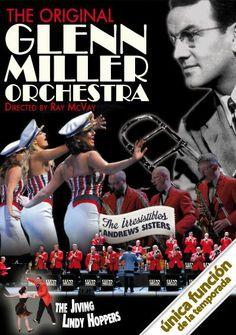 Actuació de The Original Glenn Miller Orchestra al Gran Teatre del Liceu BCN (16/03/2014)