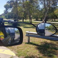 Why have towing mirrors?   When towing a caravan / camper trailer the rear vision mirror is of little useRead more »