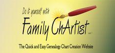 Genealogy Chart Website
