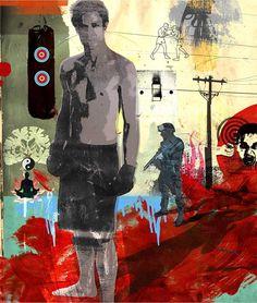 Tim Marrs mixed media art