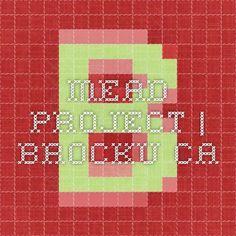 MEAD PROJECT | Brocku.ca