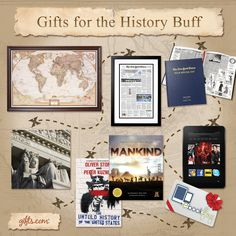 Be a Hero with These Gifts for the History Buff on http://blog.gifts.com