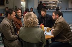 Supernatural 12 x 12 'Stuck In The Middle (With You)' // When Mary asks Sam, Dean and Castiel for help with a case, she fails to mention that the British Men of Letters are involved.