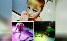 Pedangdut Irma Bule Meninggal Dipatuk Ular Saat Manggung - http://www.rancahpost.co.id/20160453095/pedangdut-irma-bule-meninggal-dipatuk-ular-saat-manggung/