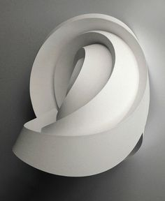 Curved Pleats   by all things paper