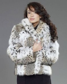 Sporty fur jacket for the active Lady.
