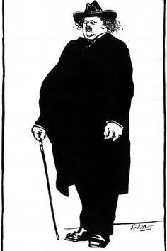 Portrait  Gilbert Keith Chesterton