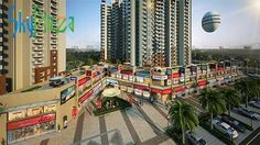 """#SHRI Group SHRI Radha SKY Gardens offers its customers an integrated shopping mall """"SKY PLAZA"""" which will be equipped with all the major brands.  #Sky #Plaza #SHRI #Group #Mathura #Shopping #Location"""