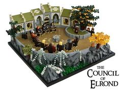 #Lego The Council of Elrond