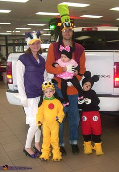 Mickey Mouse Crew - 2013 Halloween Costume Contest via @costumeworks