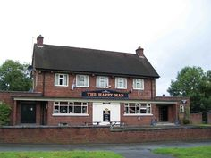 Pubs on the estate, in Wythenshawe. The Happy Man - Portway, Woodhouse Park, Bobs, Manchester, United Kingdom, Youth, Cabin, Park, House Styles, City, Happy
