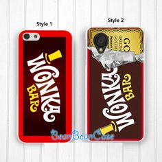 Wonka bar case for iPhone 6 iPhone 4/4s/5/5s/5c Samsung S5/Note4 Sony LG Nexu