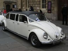 VW limo beetle owner Dave Classic Rent a Bug in Radstock Bath