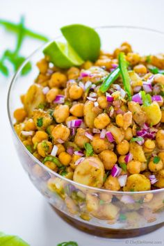 Gluten free Potato Salad with chickpeas and lots of delicious spices