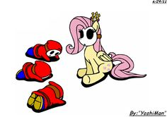 Fluttershy, Queen of the Shy Guys